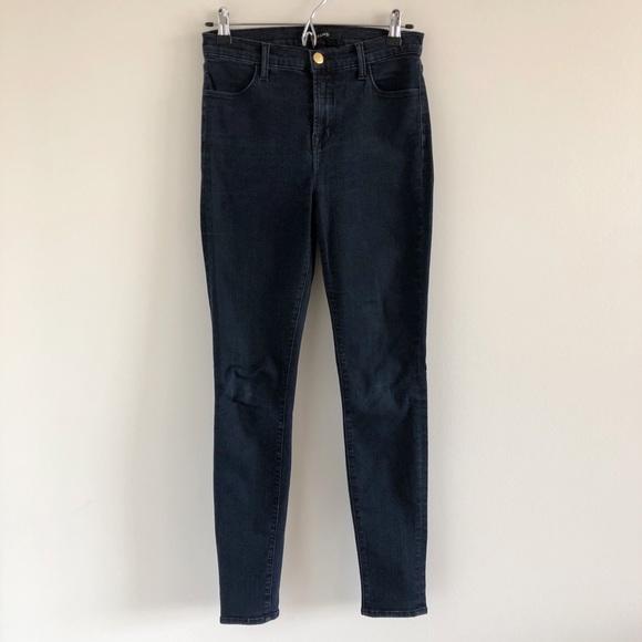 a3310c683e6b J Brand Denim - J Brand Maria High Rise Skinny Jean in Bluebird